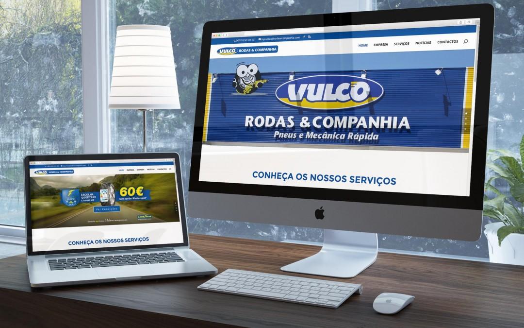Novo website Rodas & Companhia