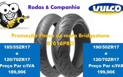 Promoção Pneus de Moto Bridgstone